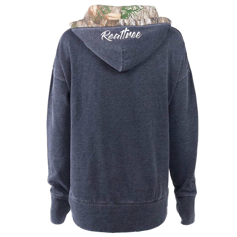 24827599e Women's Realtree Lace Up Sweatshirt at Amazon Women's Clothing store: