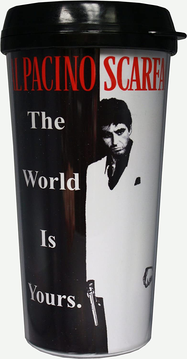 SCARFACE THE MOVIE CLASSIC LOGO COFFEE TEA MUG OFFICIAL LICENSED **NEW**