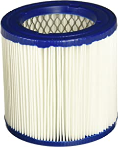 Shop-Vac 9032900 Genuine Ash Vacuum Cartridge Filter, Small, White