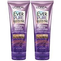 L'Oreal Paris EverPure Sulfate Free Brass Toning Purple Shampoo and Conditioner...