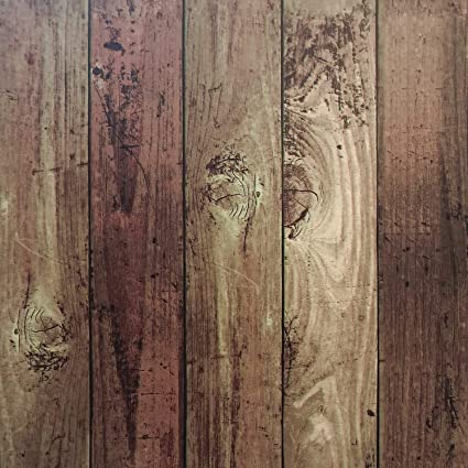 Wood Peel And Stick Film Vintage Wood Panel Wallpaper Self Adhesive Removable Wall Covering Decorative Faux Distressed Wood Plank Wooden Grain Vinyl