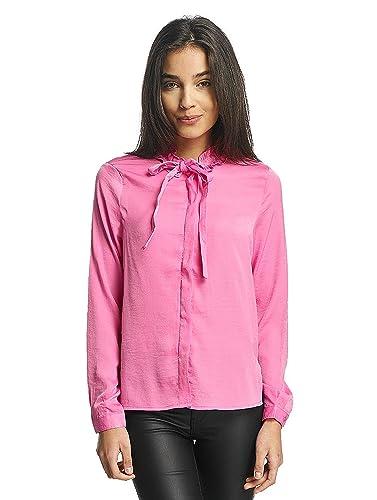 Vero Moda Vmlilje L/S Satin Shirt, Blusa Para Mujer