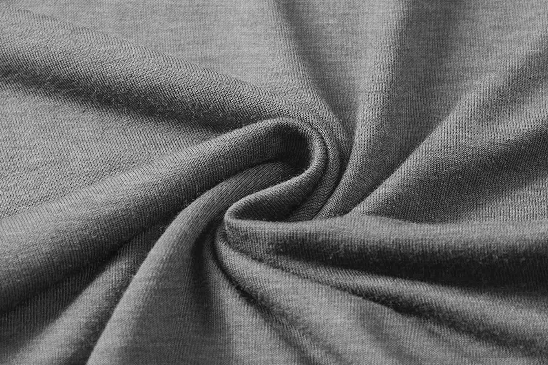 Eanklosco Women Open Front Cardigan Plus Size Drape Long Sleeve Coat (Gray, XL)