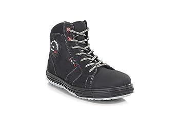 Perf béisbol alta – botas de seguridad S3 SRC, negro, 5 UK (38