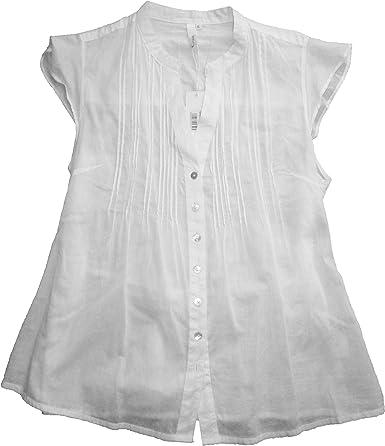 losan - Camisa - para Mujer Blanco Talla XL: Amazon.es: Ropa y accesorios