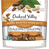 Orchard Valley Harvest Honey Roasted Mixed Nuts Trail Mix (15 x 1.0oz bags) (Almonds, Peanuts, Pecans & Cashews)