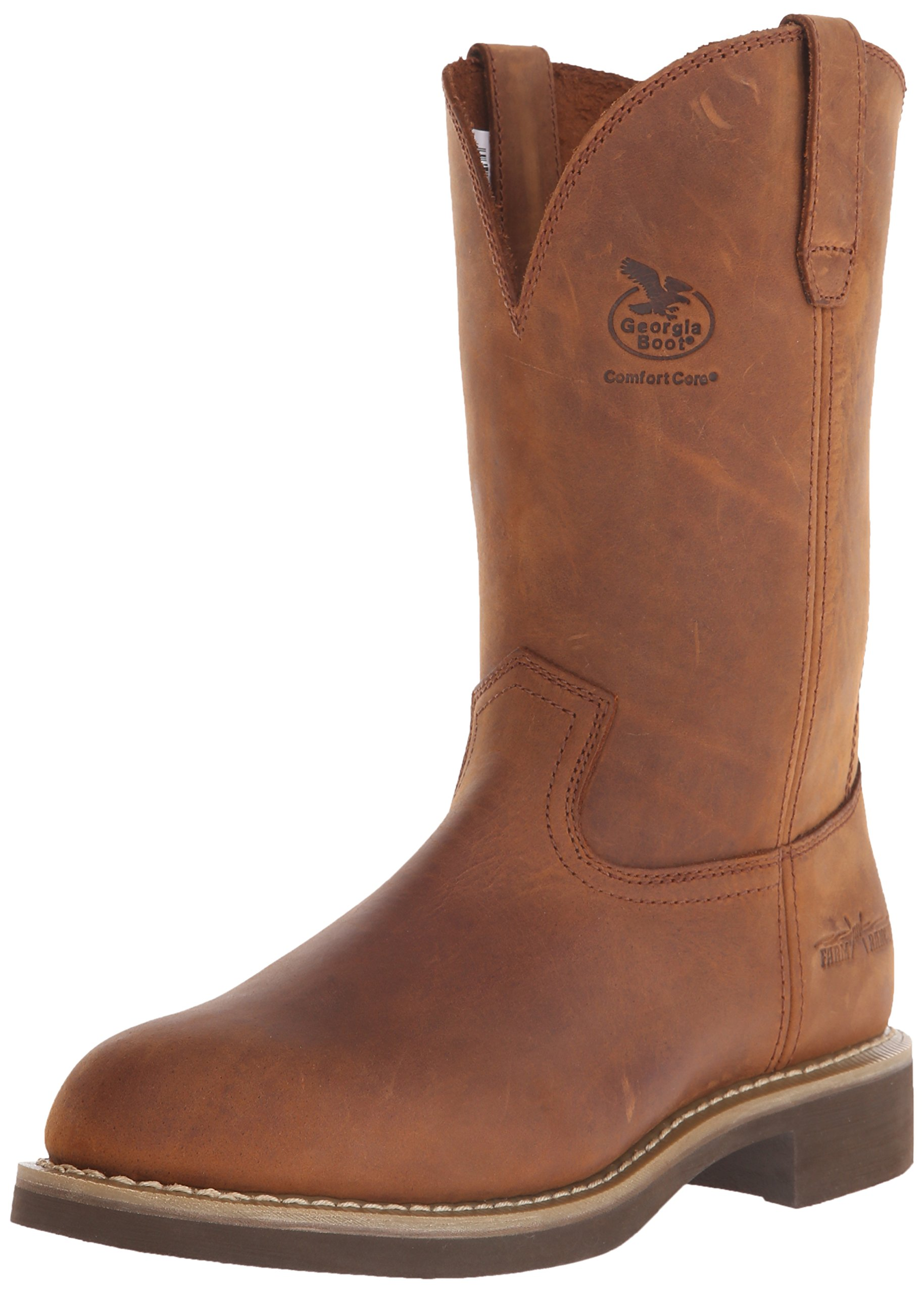 Georgia Men's Carbo Tec-M Farm and Ranch, Prairie Chestnut, 11 2E US by Georgia