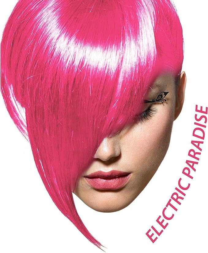 Electric Paradise, color de pelo semi permanente UV neón rojo - 118 ml - Arctic Fox