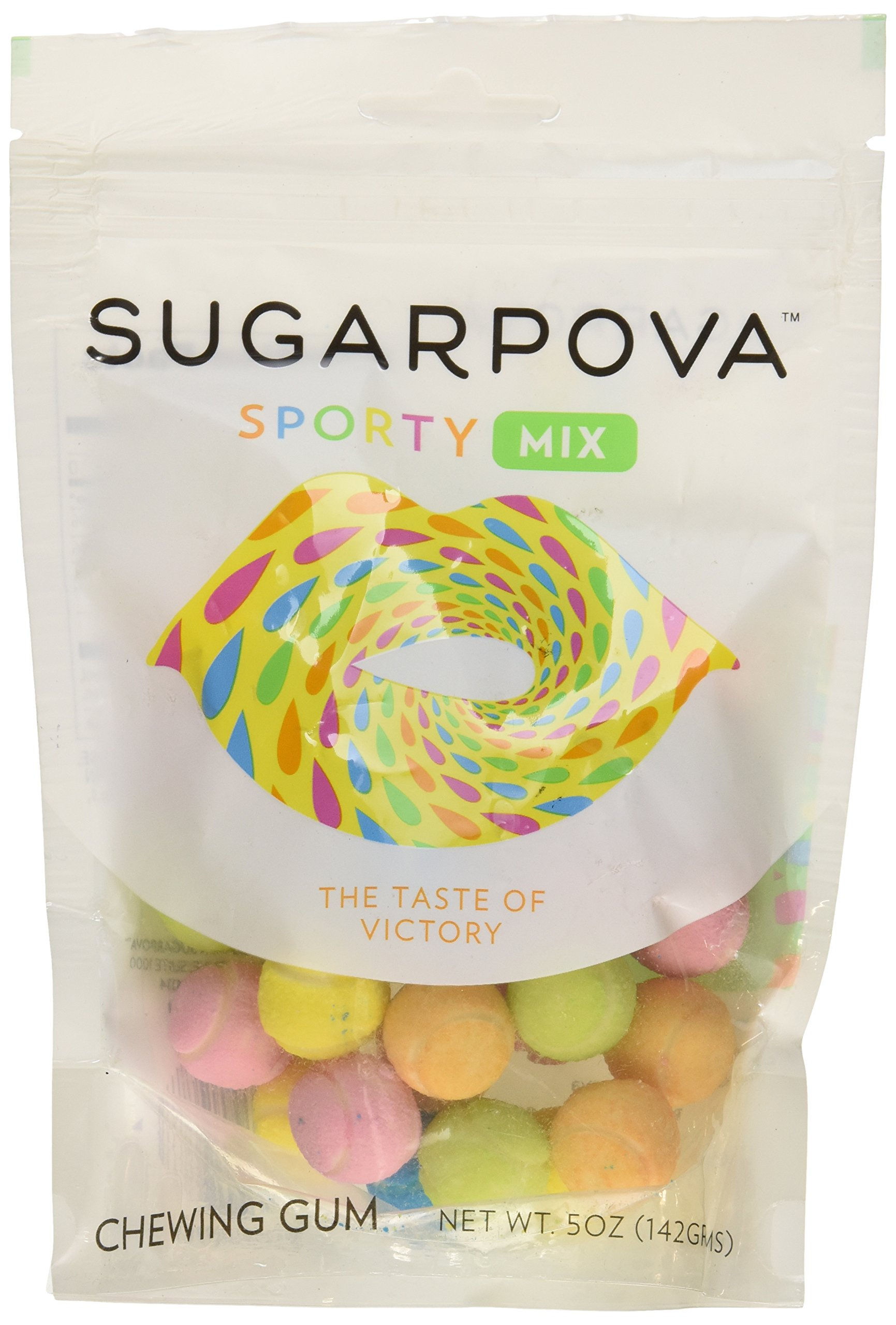 SUGARPOVA | Sporty Mix Tennis Ball Gum | 28882