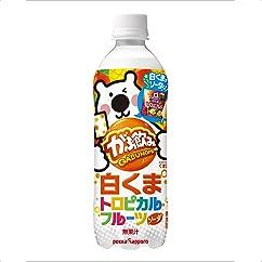 【ドリンクの新商品】ポッカサッポロ がぶ飲み 白くまトロピカルフルーツソーダ 500ml×24本