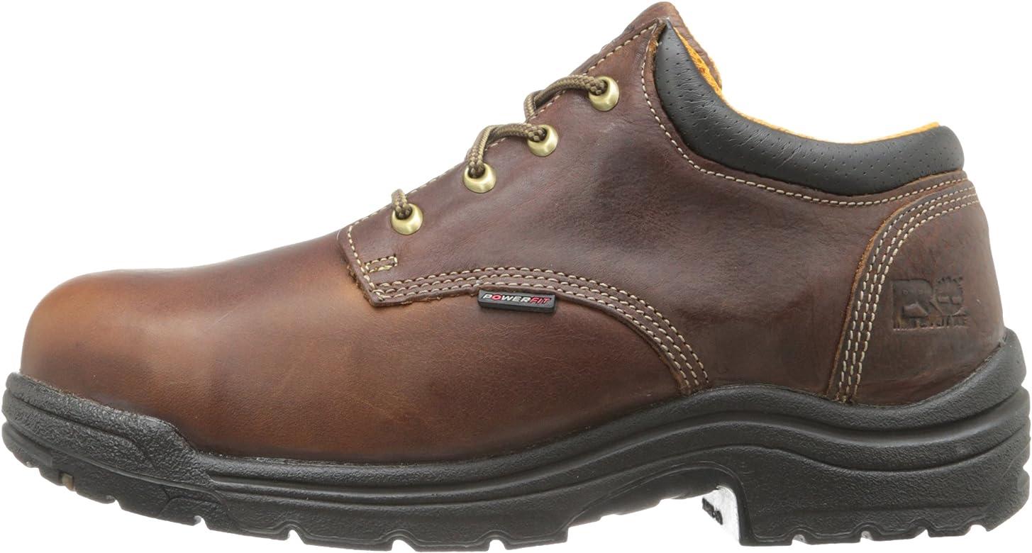 Hombre Titan Safety Toe Oxford, Haystack Brown, 8 W: Amazon.es: Zapatos y complementos