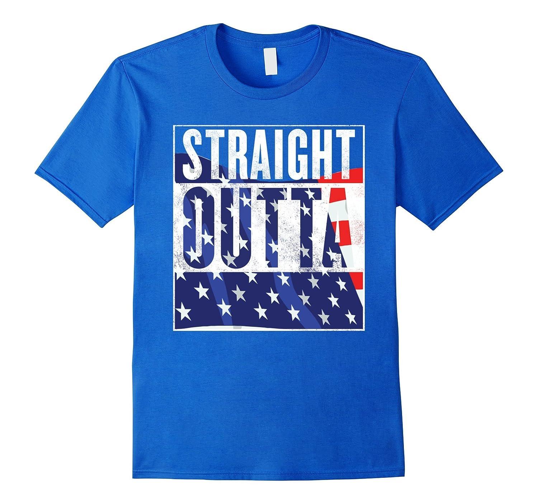 4th of July Patriotic Funny Shirt Patriotic Flag Shirt-PL