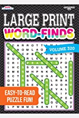 Large Print Word-Finds Puzzle Book-Word Search Volume 320 Perfect Paperback