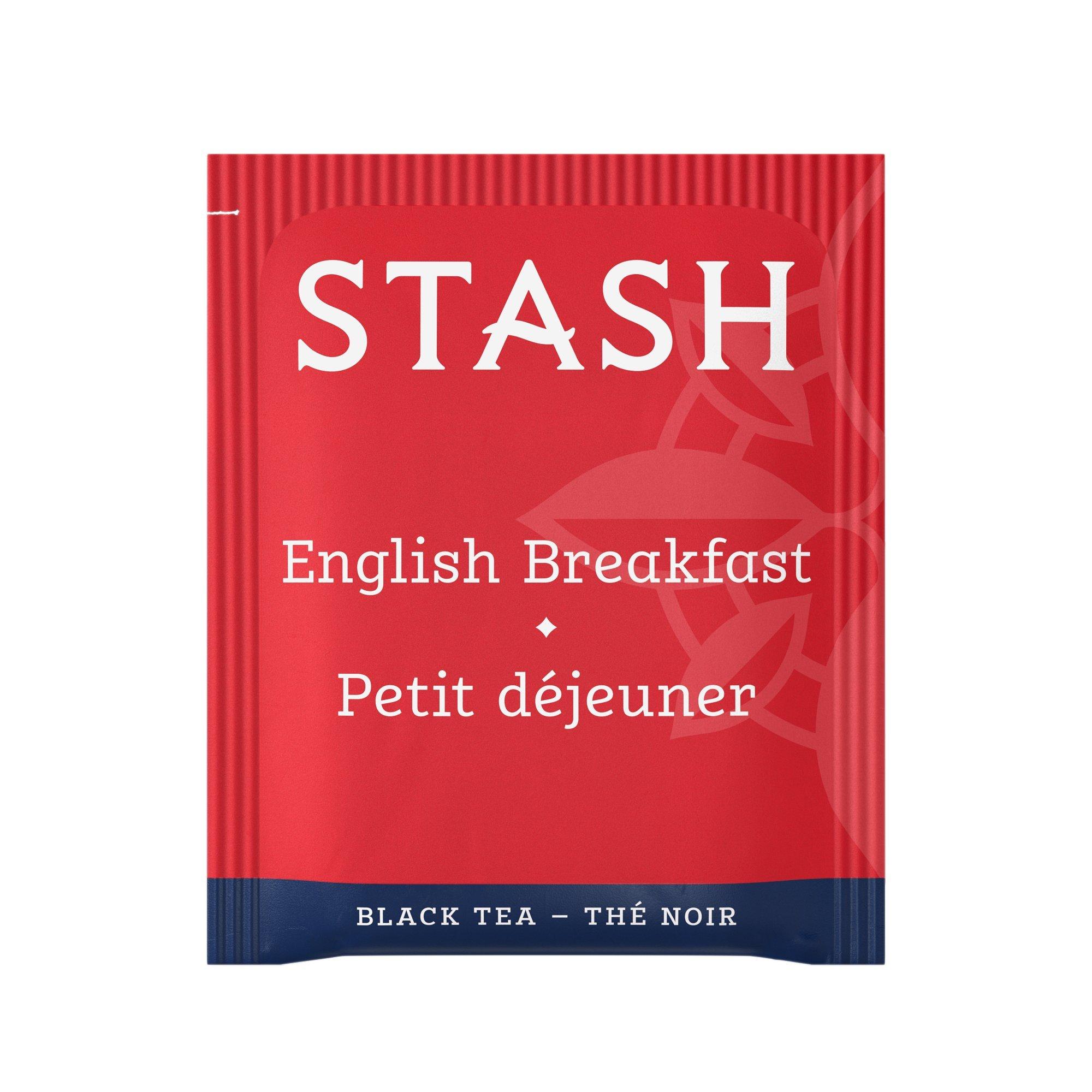 Stash Tea English Breakfast Black Tea 1000 Count Box of Tea Bags in Foil by Stash Tea (Image #2)