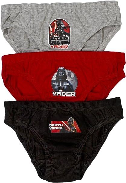 Star Wars Pants Briefs Slips Underwear Cotton Pack of 3