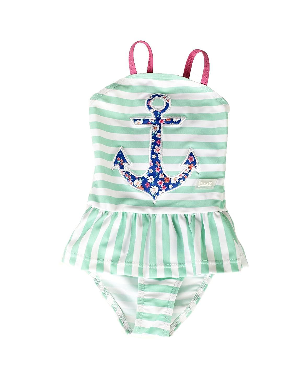 Banz Baby Costume Mare per Bambina ANTI-UV, Anchor.