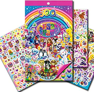 Lisa Frank Stickers Funtastic Sticker Book