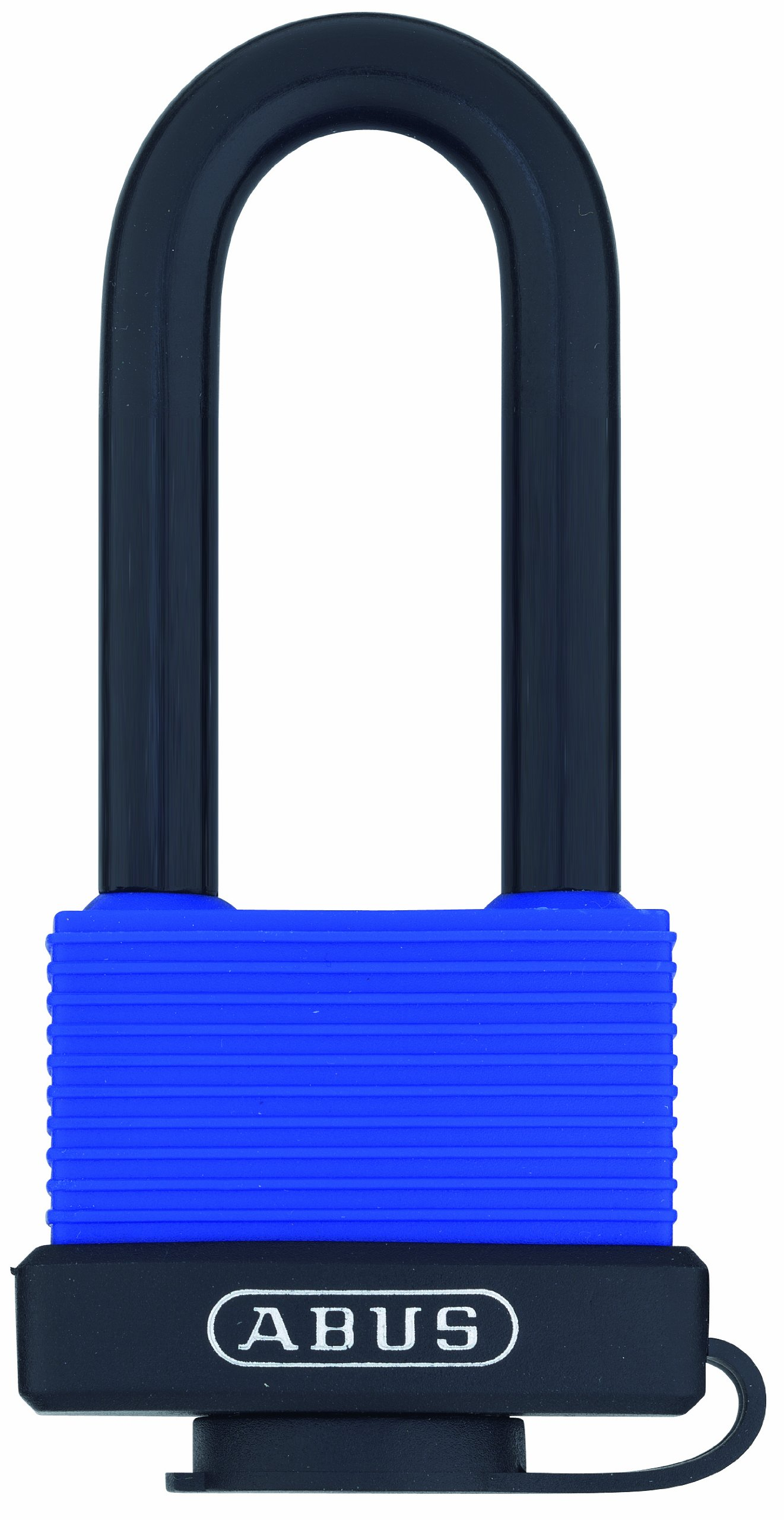 ABUS 70/45 All Weather Solid Brass Padlock Keyed Different - Long Stainless Steel Shackle (2-1/2'')