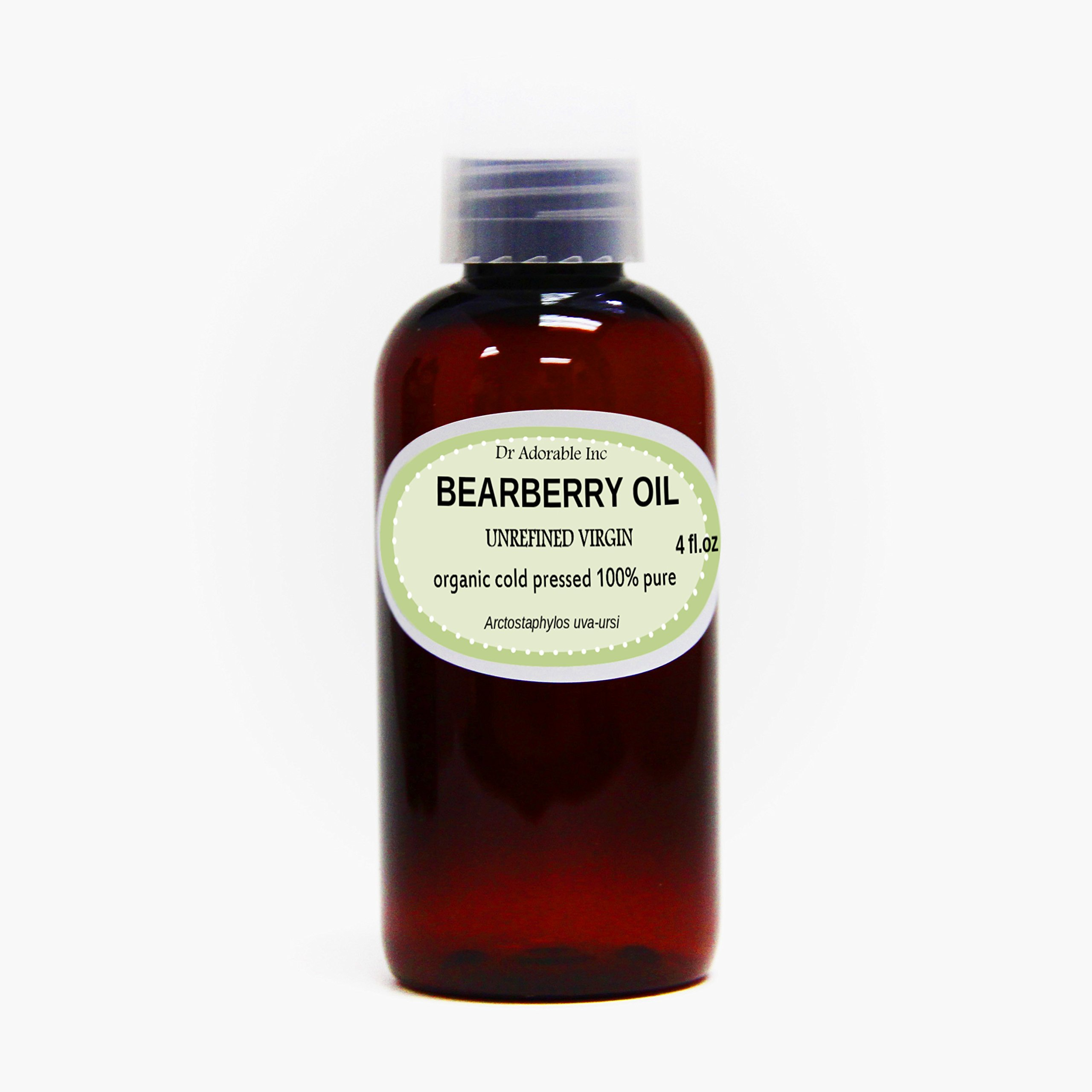 4 Oz Bearberry Seed Oil 100% Pure Organic Cold Pressed
