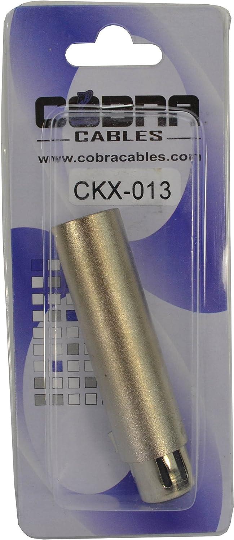 Cobra DMX Adaptor 3 Pin Male to 5 Pin Female
