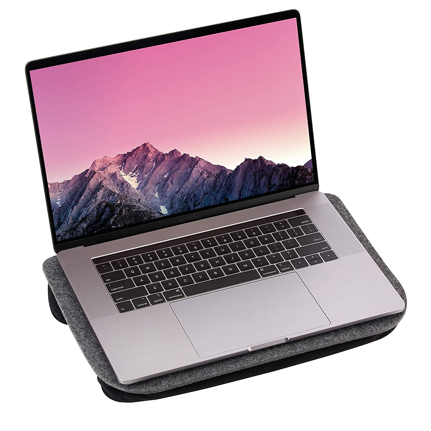 """Lightweight Lap Desk   Portable, Felt Material for Easy Storage   Fits up to 15"""" Laptop   Nomodo"""