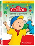 Caillou Roars and Other Adventures  (Bilingual)