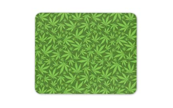 Legalize Weed Mary Jane tapete de ratones cojín -Hemp hoja ...
