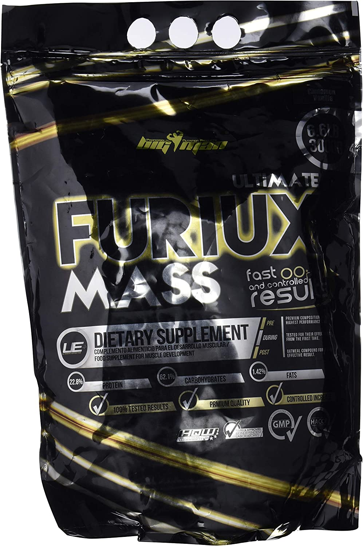 Big Man Nutrition Ultimate Furiux Mass Suplementos Cinnamon Vanilla - 3000 gr