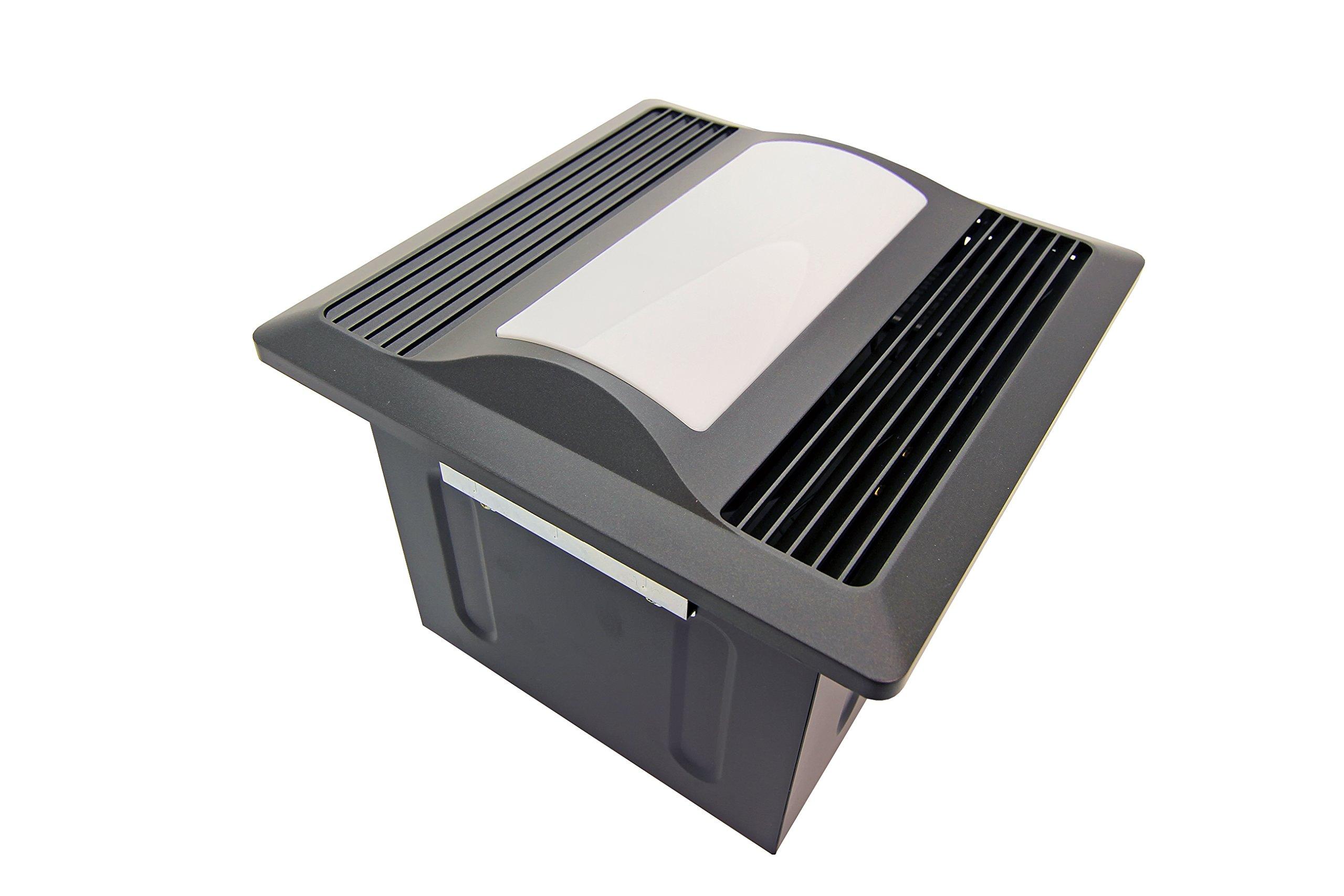 Aero Pure SBF 110 L1 OR 110-CFM Super Quiet Bathroom Ventilation Fan with Light/nightlight Energy Star Qualified, Oil Rubbed Bronze