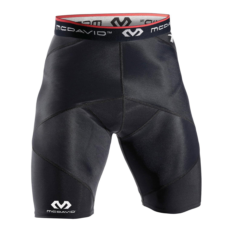 McDavid(マクダビッド) クロスコンプレッション ショーツ B071S2FC64 カラー:ブラック(BK)|ブラック ブラック カラー:ブラック(BK)