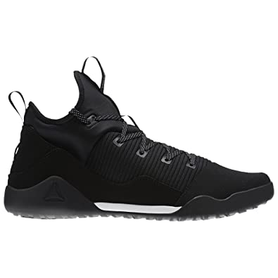 21f5bfbad7 Reebok Men's Combat Noble Cross Trainer, Black/White, 12 M US ...