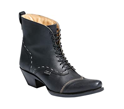Westernwear Shop Damen Westernstiefel Ashley Black Edition