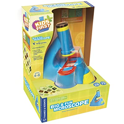 Thames & Kosmos 634032 Kids First Big & Fun Microscope Science Experiment Kit: Toys & Games