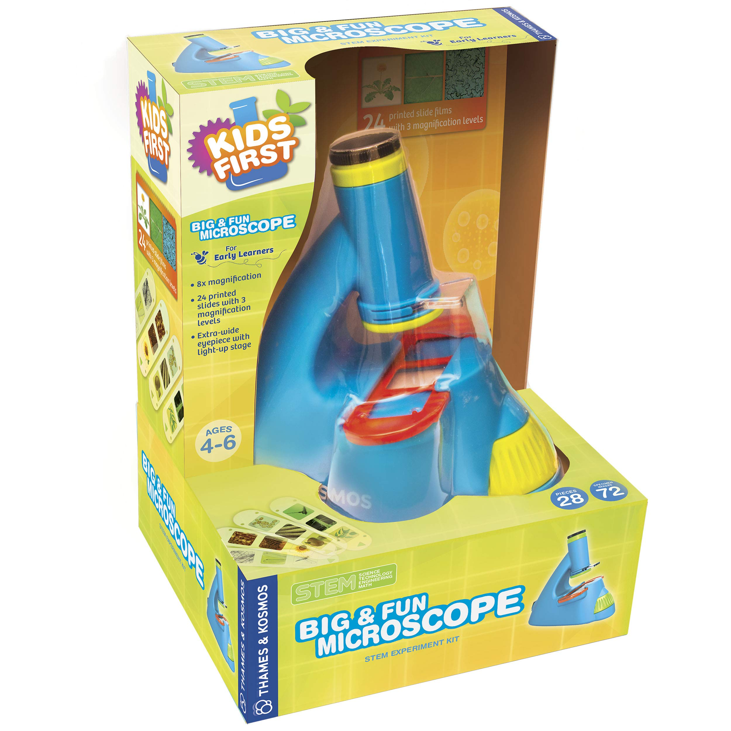 Thames & Kosmos 634032 Kids First Big & Fun Microscope Science Experiment Kit by Thames & Kosmos