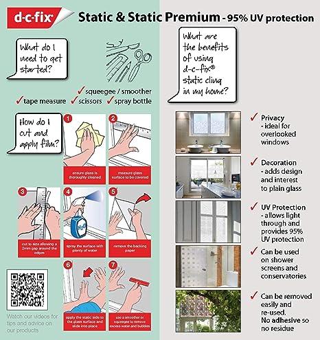 ScreenCentre d-c-Fix? Static Cling Premium Window Film (no ...