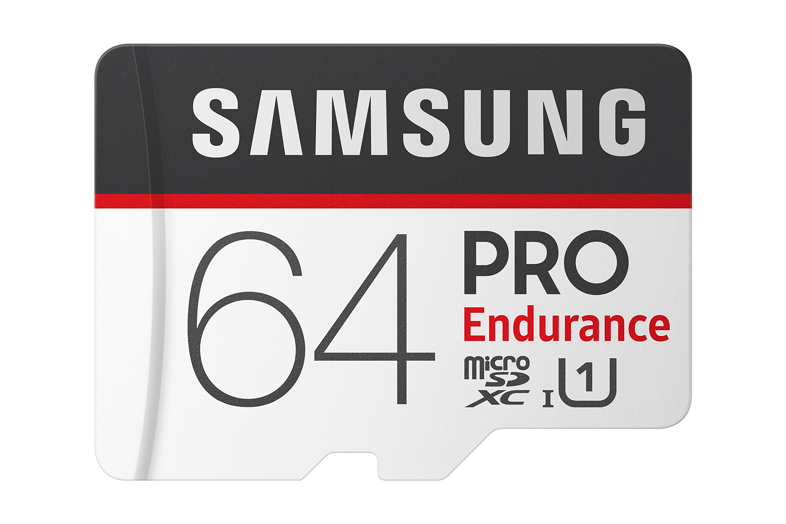 Samsung PRO Endurance 64GB Micro SDXC Card with Adapter - 100MB/s U1 (MB-MJ64GA/AM) by Samsung