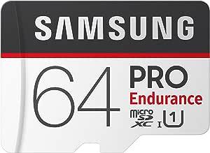Samsung PRO Endurance 64GB 100MB/s (U1) MicroSDXC Memory Card with Adapter (MB-MJ64GA/AM)