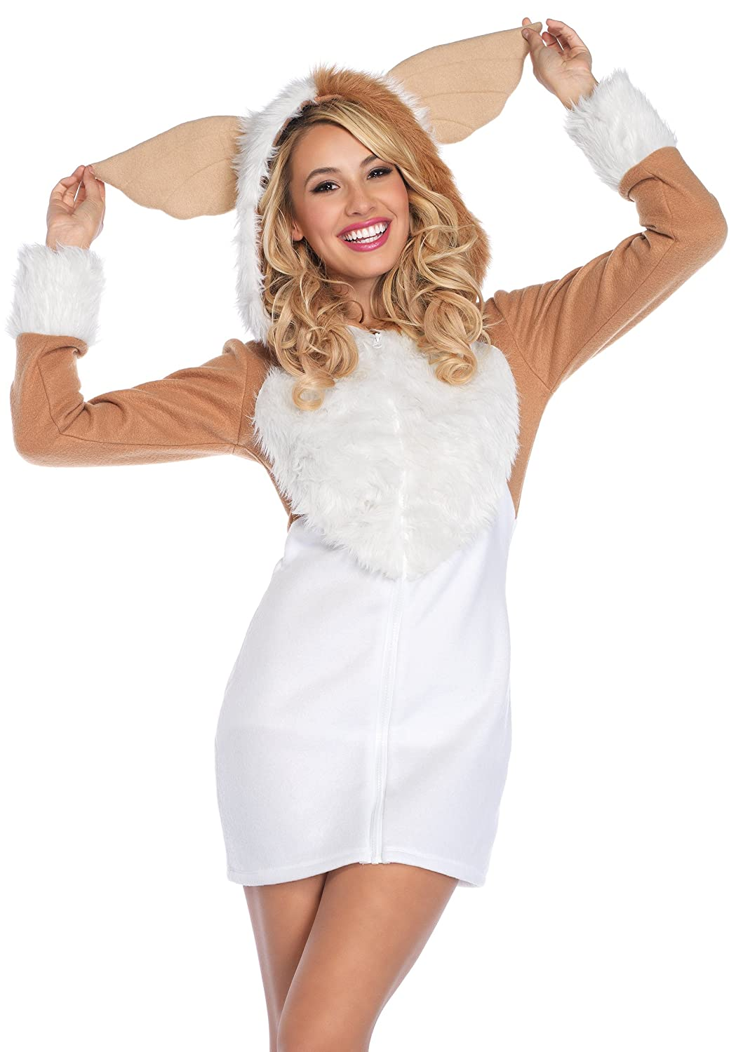 Amazon mail delivery girl adult costume large clothing leg avenue cozy gremlin costume sciox Choice Image