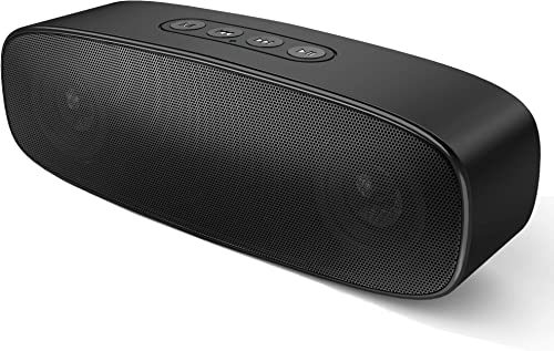 Bluetooth Speakers with Loud Sound, Enkman 10W Portable Wireless Speaker with FM Radio, Strong Bass, 12-Hours Playtime, True Wireless Stereo Pairing Bluetooth 4.2 Speaker for iPhone and Android Phones