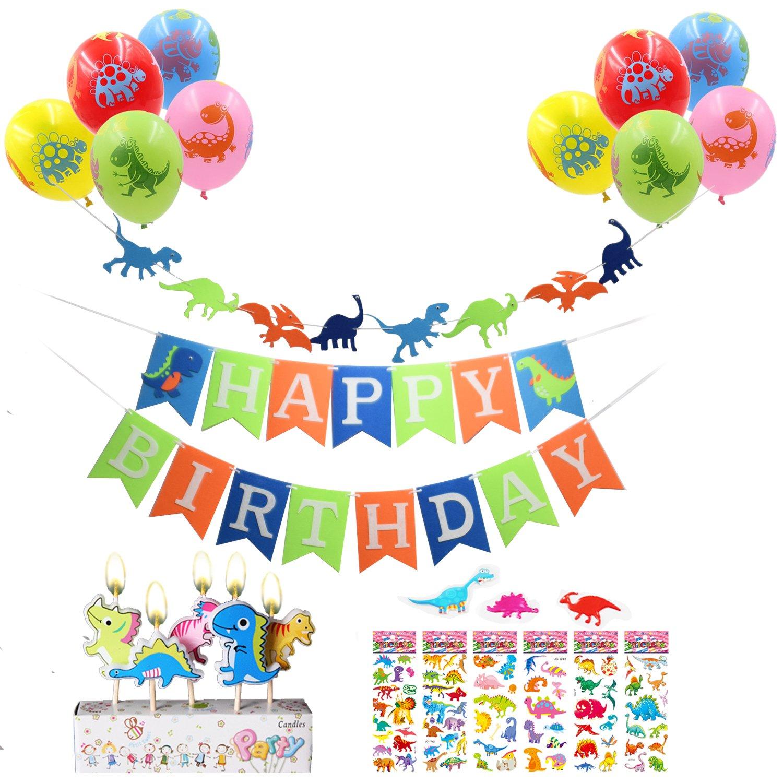 60OFF Dinosaur Birthday Party Decoration Kit 1 Happy Banner