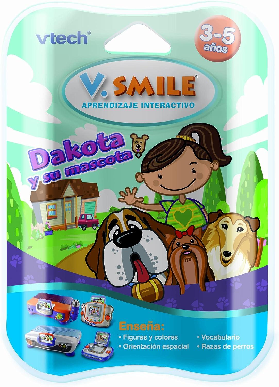 VTech - Juego Educativo, V.Smile, Dakota y su Mascota para V.S.Motion (80-084267)