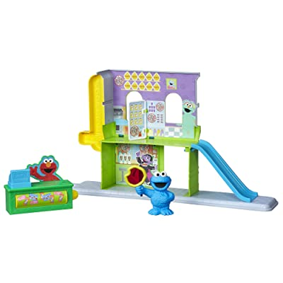 Playskool Sesame Street Discover 123s with Cookie Monster Playset: Toys & Games