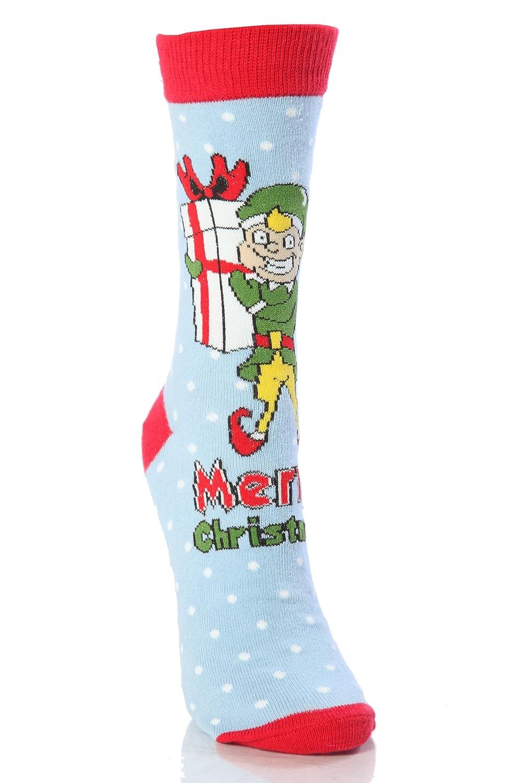 Amazon.com: SockShop Kids 1 Pair Dare To Wear Christmas Socks 10-13 ...