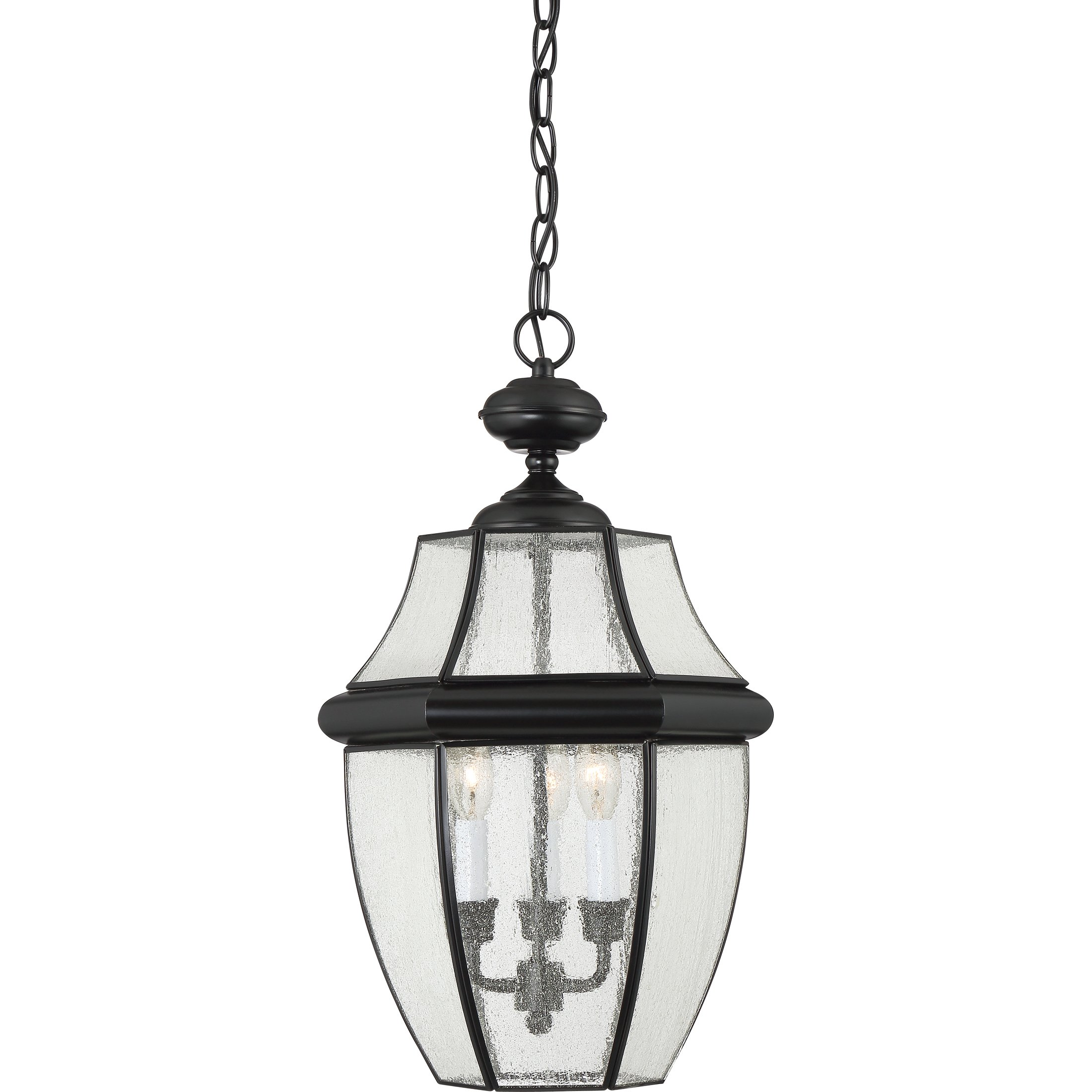 Quoizel NY1912K Three Light Outdoor Hanging Lantern by Quoizel