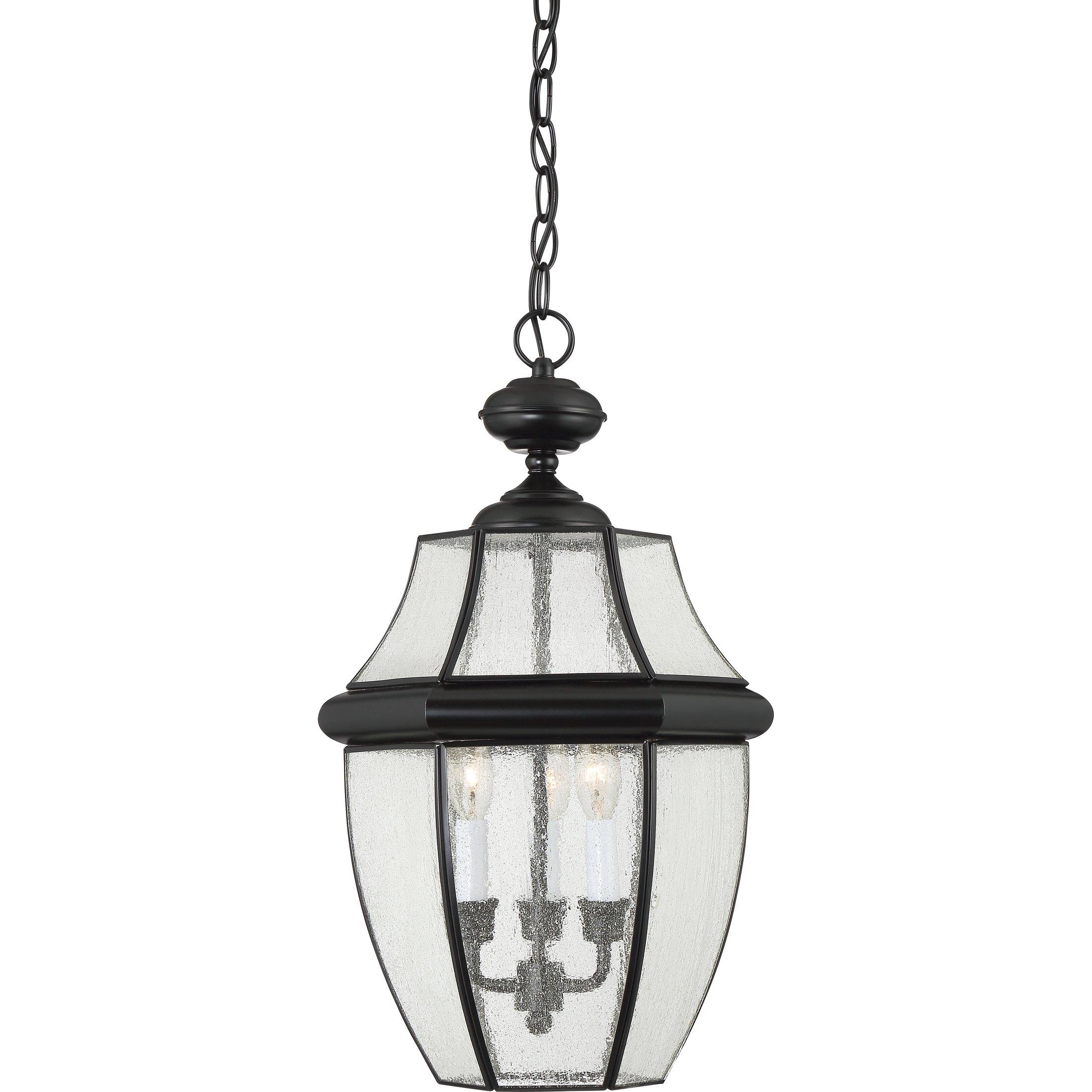 Quoizel NY1912K Three Light Outdoor Hanging Lantern