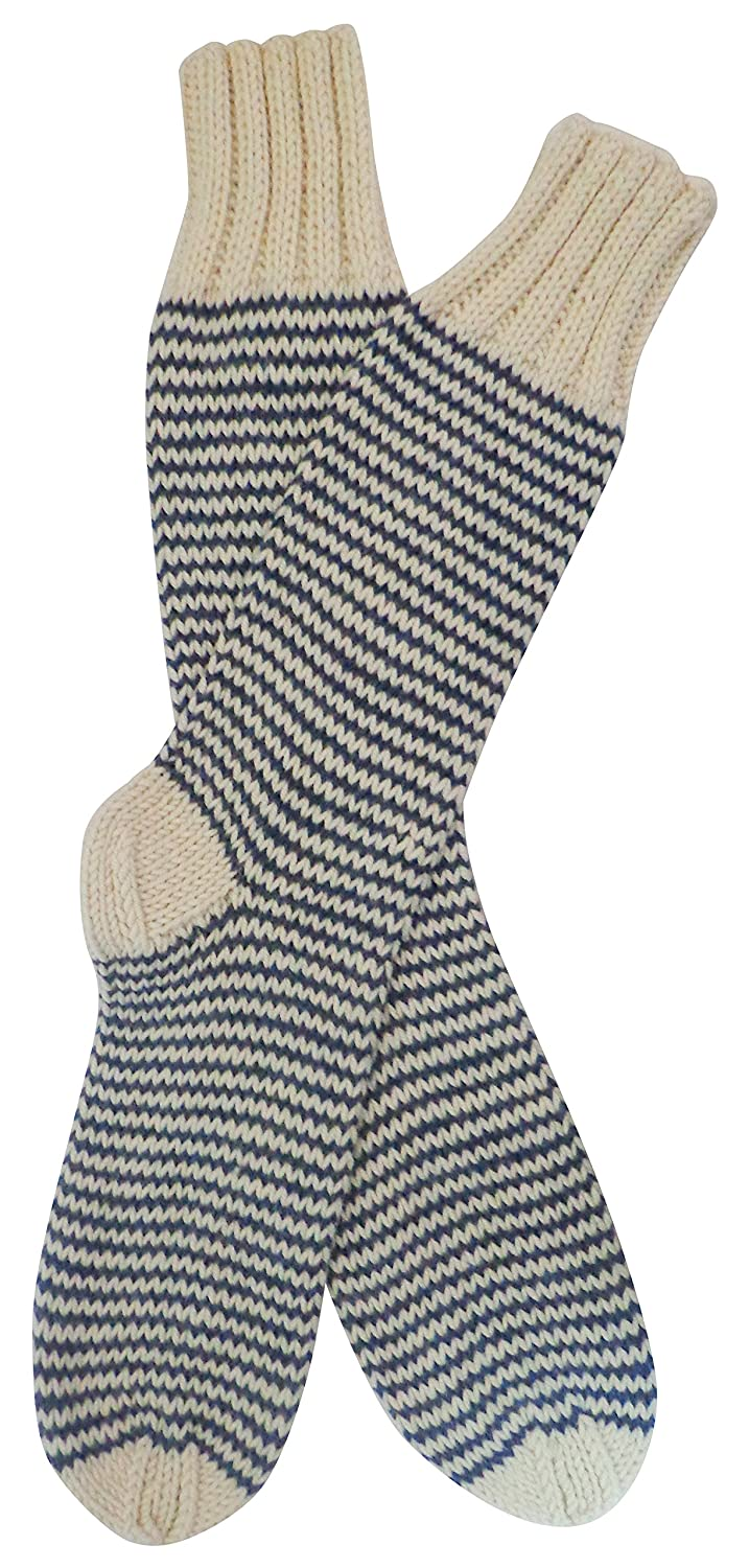Top Gamboa Incredibly Warm Alpaca Socks - Available in Various Colors. Striped Design hot sale