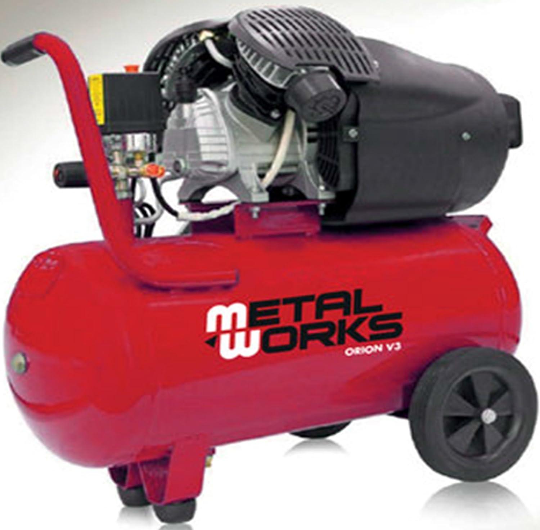 Compresor de aire 3cv. 2 cilindros/2etapas 50 litros: Amazon.es ...