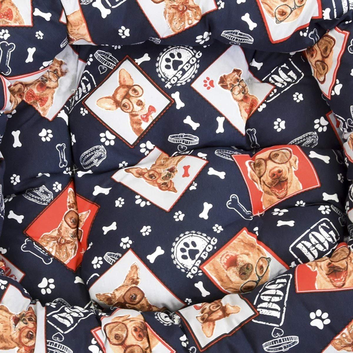 Cisne 2013, S.L. ¡Oferta Cama para Perro y Gato Perros Gafas E 60 * 45cm.: Amazon.es: Hogar