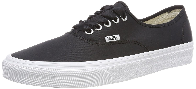 Vans Authentic, Zapatillas Para Mujer 38.5 EU|Negro (Satin Lux)