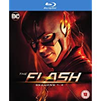 The Flash: The Complete Season 1 to 4 (16-Disc Box Set) (Slipcase Packaging + Region Free + Fully Packaged Import)
